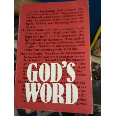 God's Word: The Holy Bible (New International Version)