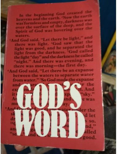 Библия на английском (God's Word: The Holy Bible)