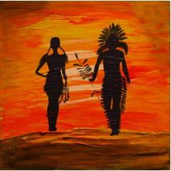 Индейская пара